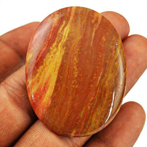 gemsmore:Genuine Oval Shape Dolomite Jasper Untreated Loose Gemstone