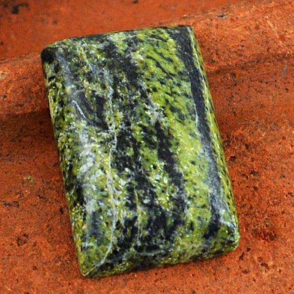 gemsmore:Genuine Amazing Forest Green Jasper Untreated Loose Gemstone