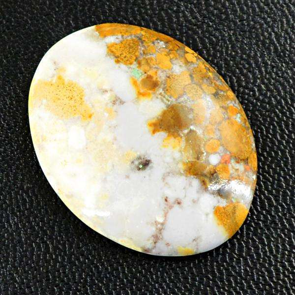gemsmore:Genuine Amazing Oval Shape Ocean Jasper Loose Gemstone