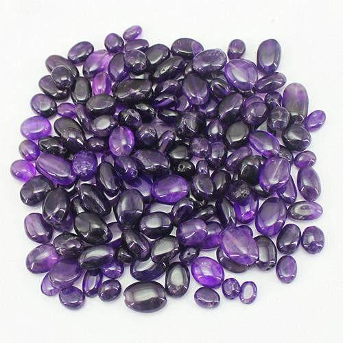 gemsmore:Genuine Bolivian Amethyst Drilled Beads Lot