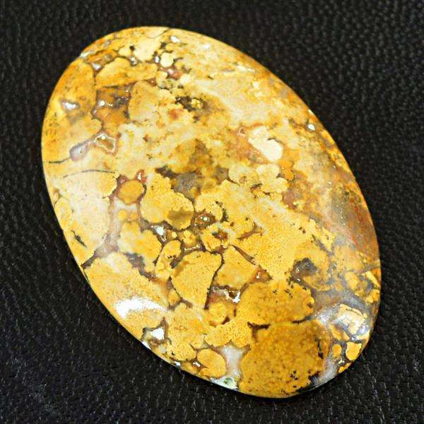 gemsmore:Genuine Cobra Jasper Oval Shape Loose Gemstone