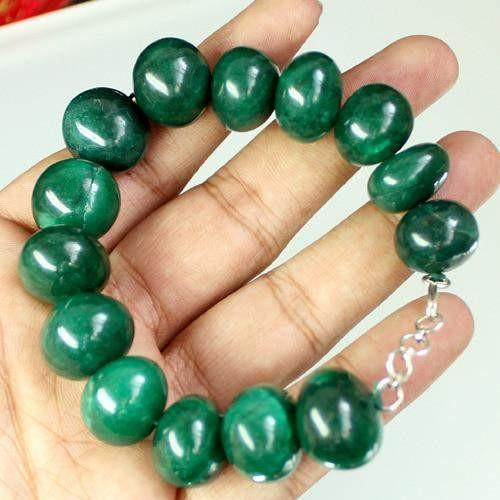gemsmore:Genuine Emerald Bracelet - New Design