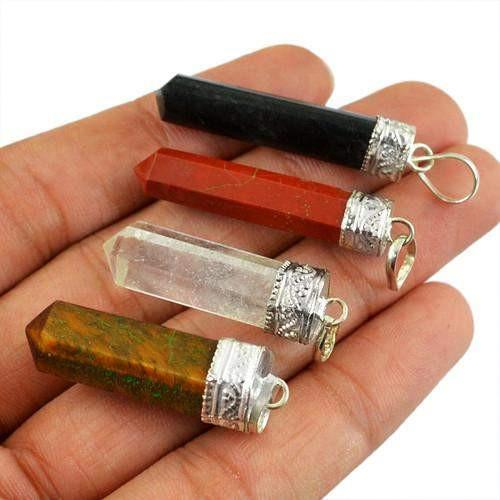 gemsmore:Genuine Healing Point Pendant Lot
