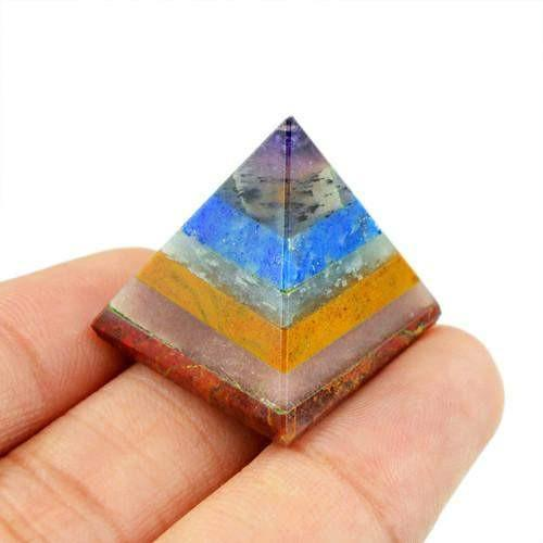 gemsmore:Genuine Multi Gems Healing Pyramid
