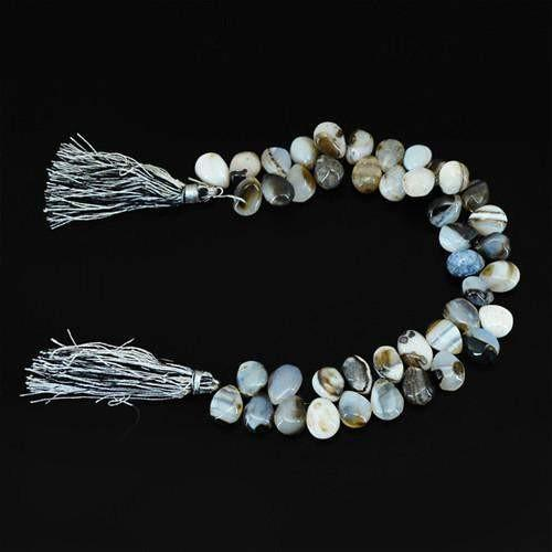 gemsmore:Genuine Onyx AAA Gemstone Strand