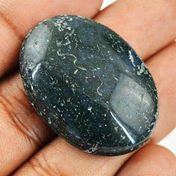 gemsmore:Natural Amazing Jasper Oval Shape Untreated Loose Gemstone