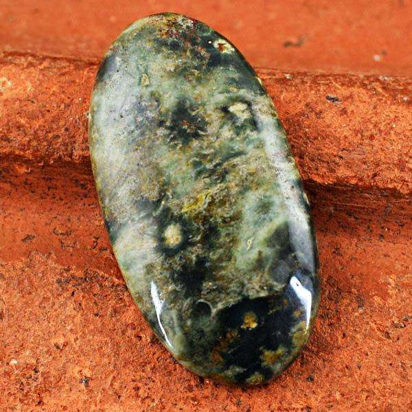 gemsmore:Natural Amazing Kambaba Jasper Oval Shape Untreated Loose Gemstone