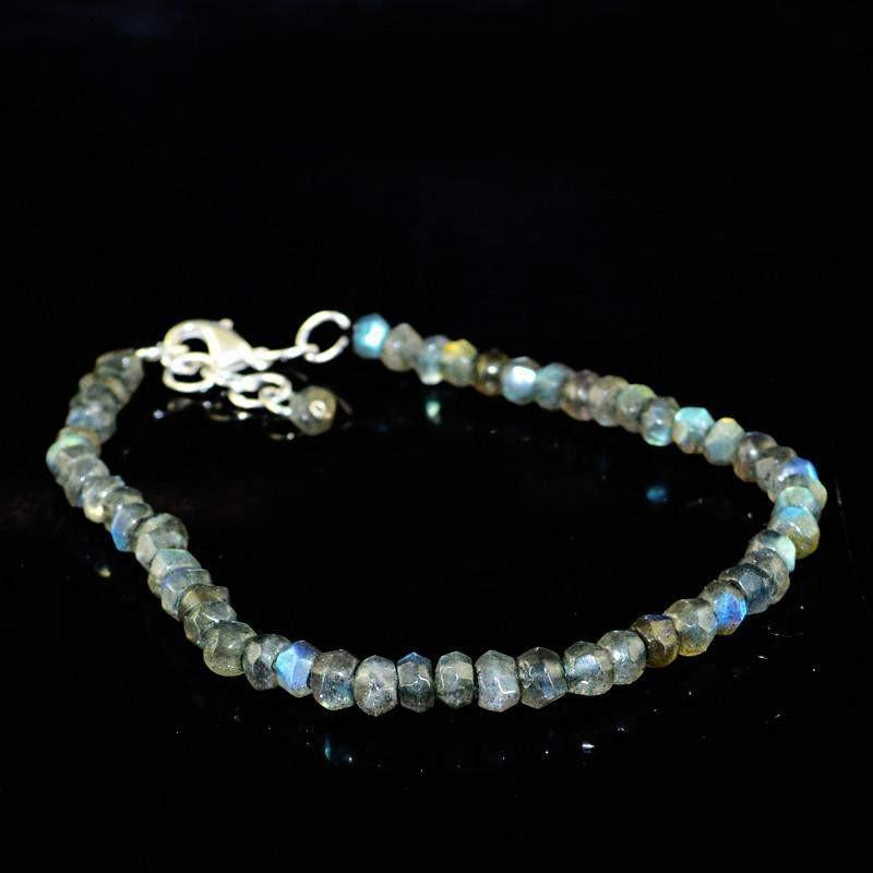 Details about  /305.00 Carats Earth Mined Blue Flash Labradorite Untreated Drilled Beads Lot