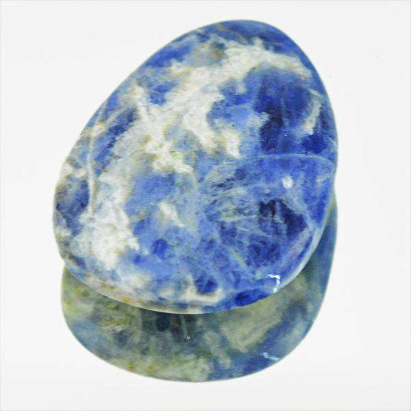 gemsmore:Natural Blue Sodalite Untreated Loose Gemstone