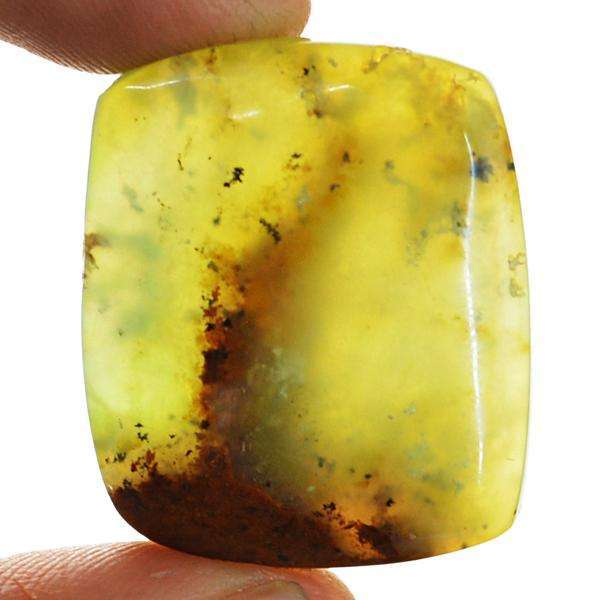 gemsmore:Natural Chrysoprase Untreated Loose Gemstone