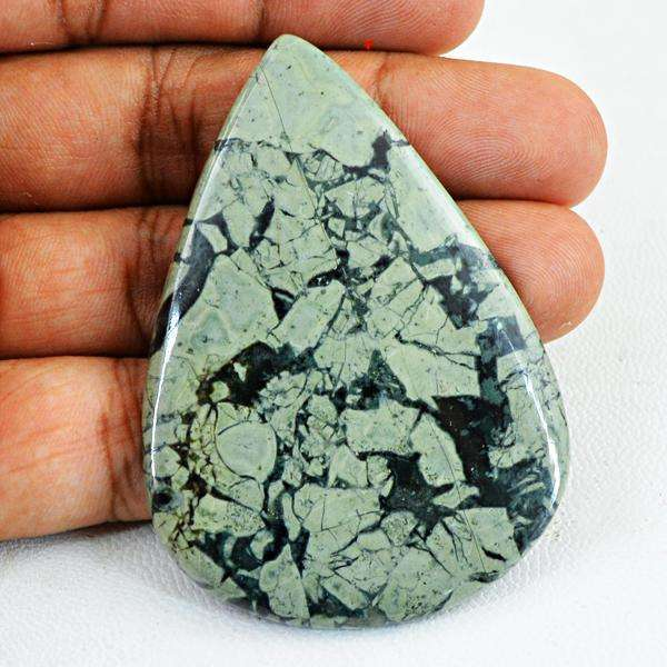gemsmore:Natural Kambaba Jasper Pear Shape Untreated Loose Gemstone