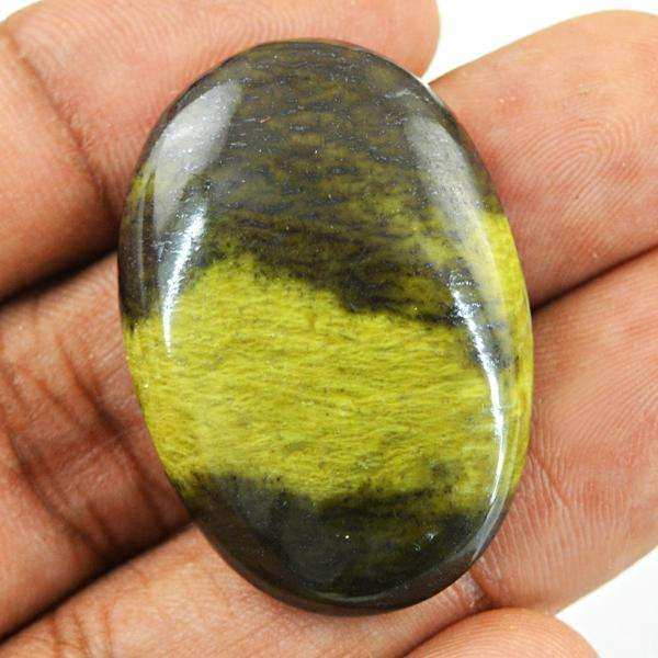 gemsmore:Natural Oval Shape Cheetah Jasper Untreated Loose Gemstone