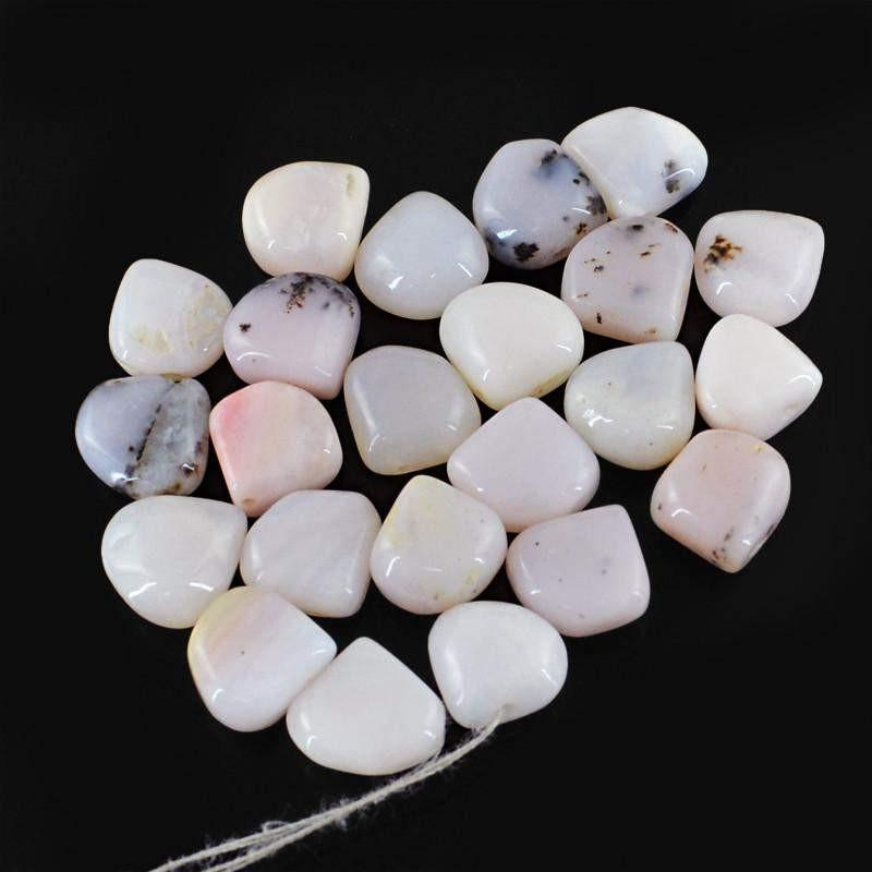 gemsmore:Natural Pink Australian Opal Beads Lot