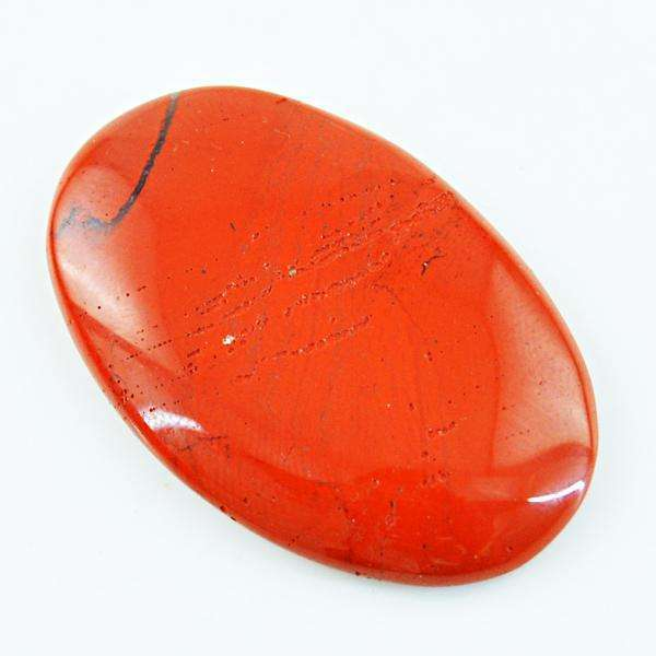 gemsmore:Natural Red Jasper Oval Shape Loose Gemstone