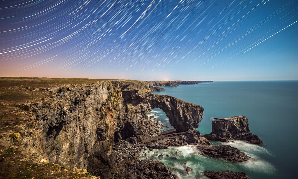 Stackpole Estate - One of the best places to stargaze in the UK according to the Guardian