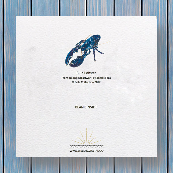 Blue Lobster - Fells Collection Greeting Card