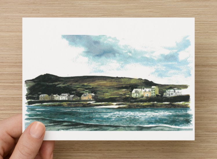Coast Line View Postcard