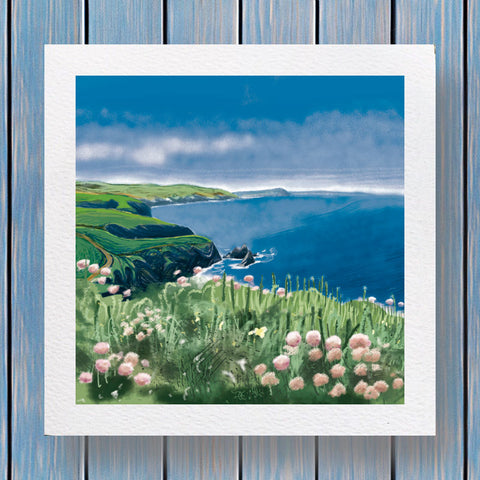 Coastline - Fells Collection Greeting Card