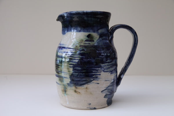 Copper Design Stoneware Jug by Fishguard Pottery