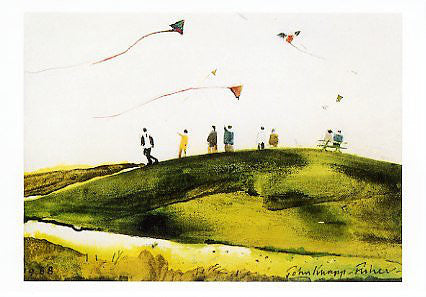 Kite Flyers - John Knapp-Fisher