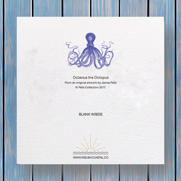 Octavius Octopus Fells Collection Greeting Card