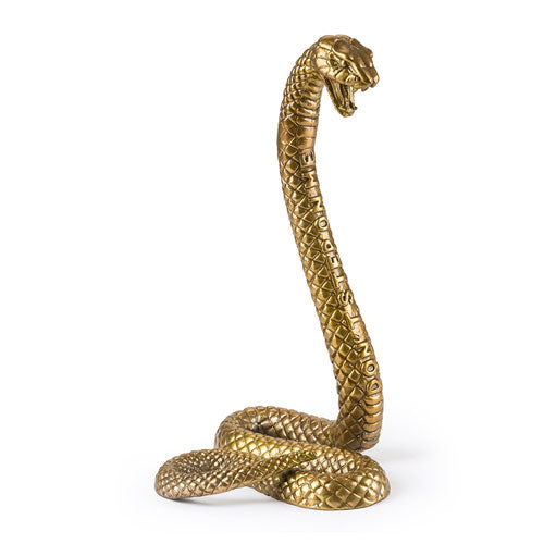 Brass snake by Seletti