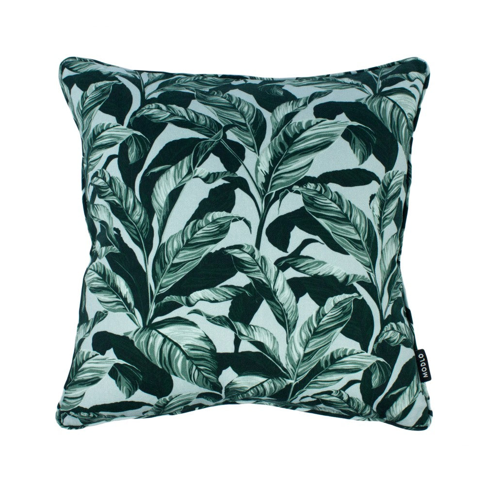 Selva: Cotton Cushion - Blue & Teal