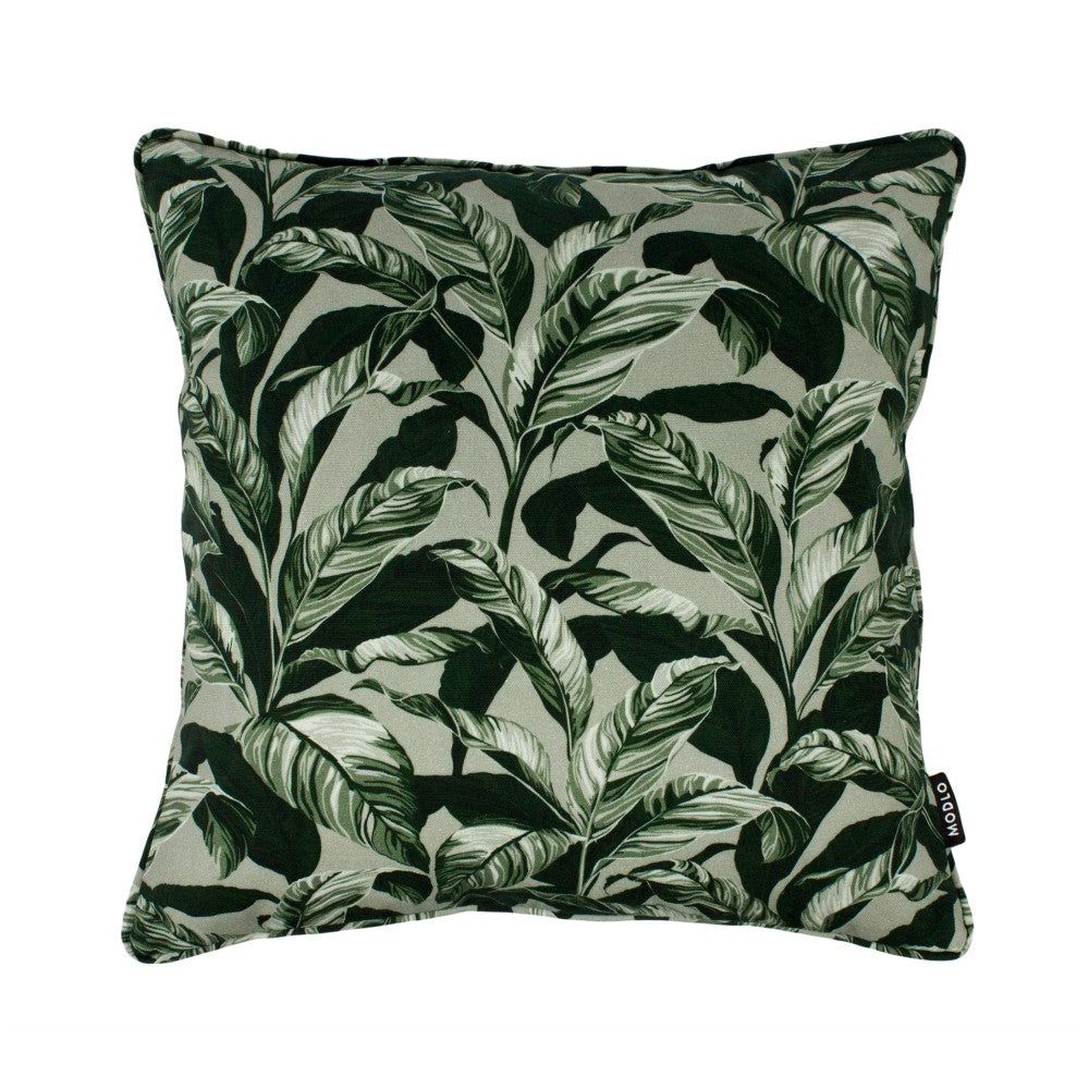 Selva: Cotton Cushion - Olive Green