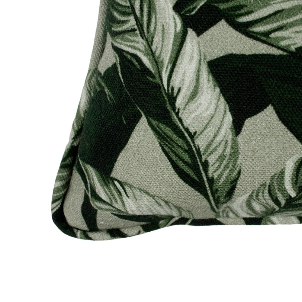 Selva: Small Cushion - Olive Green