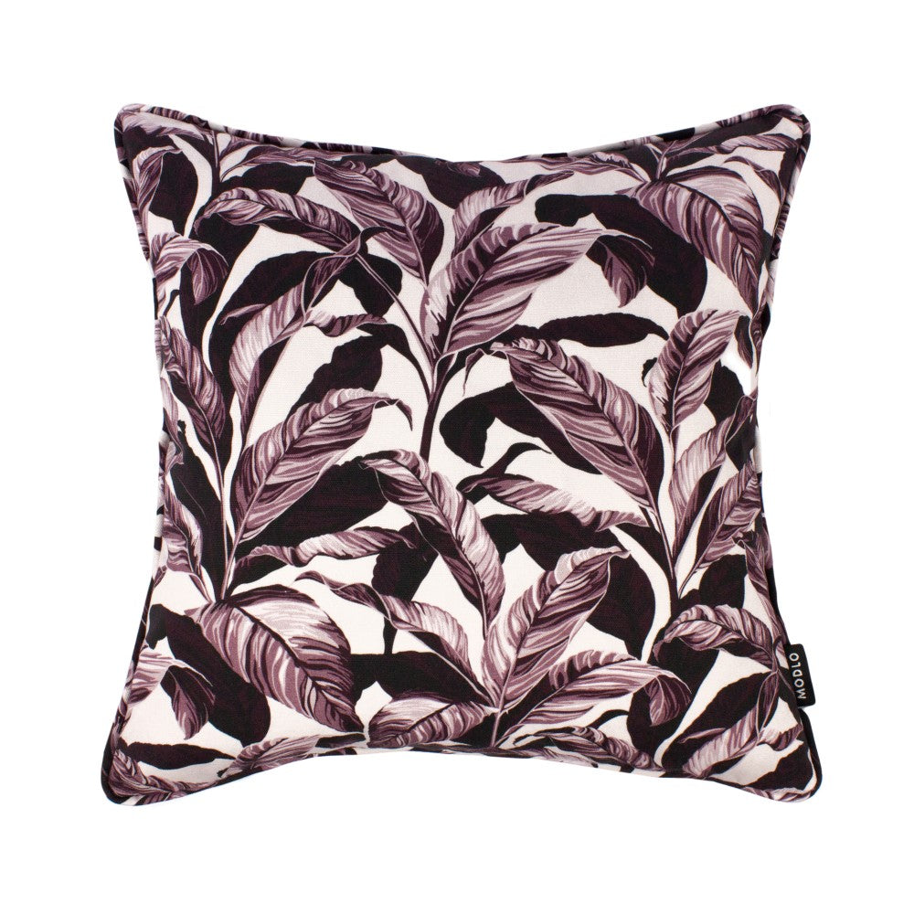Selva: Cotton Cushion - Plum Pink