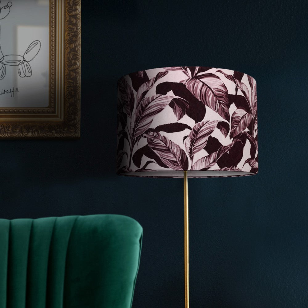 Selva: Lamp Shade - Plum Pink