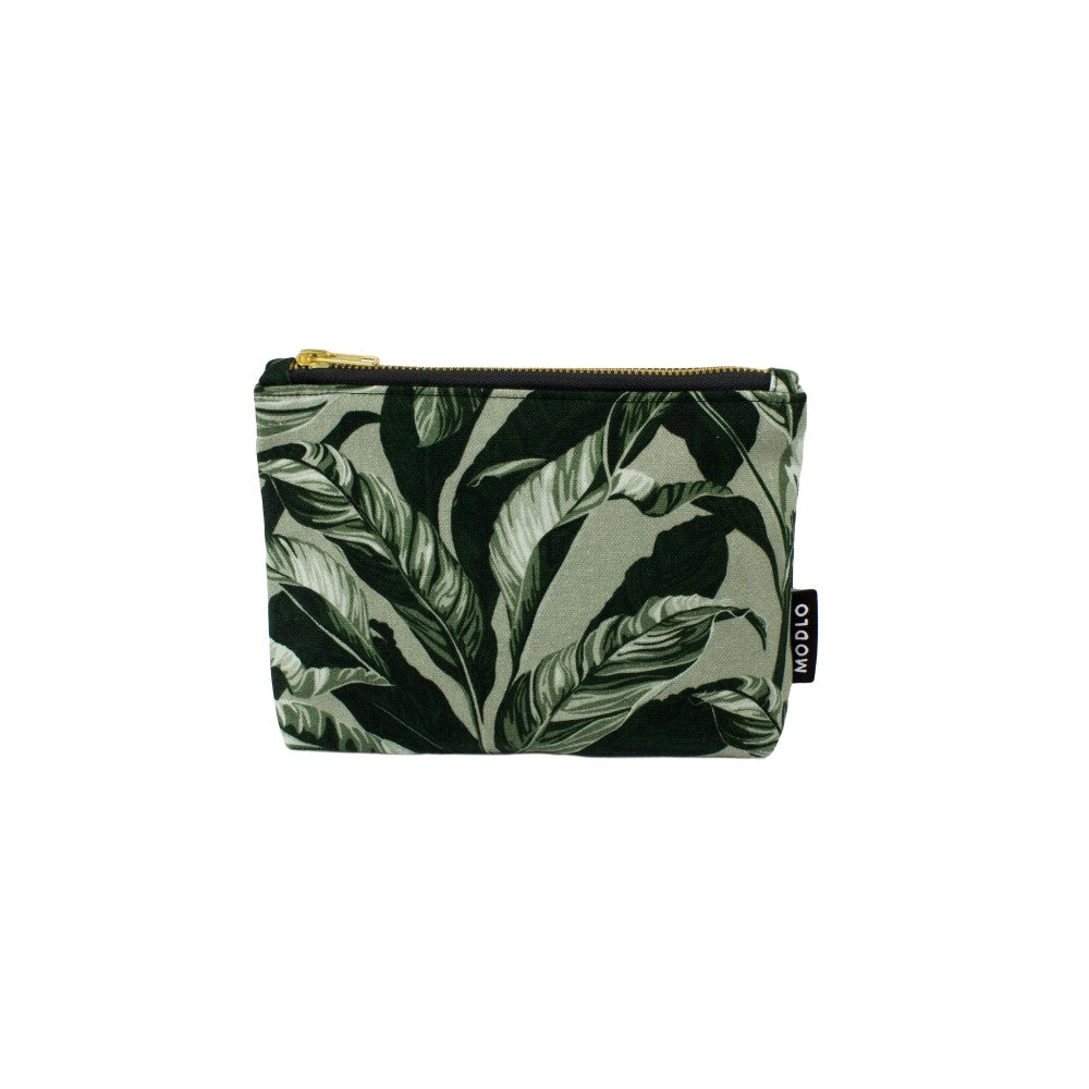 Selva: Make Up Bag - Olive Green