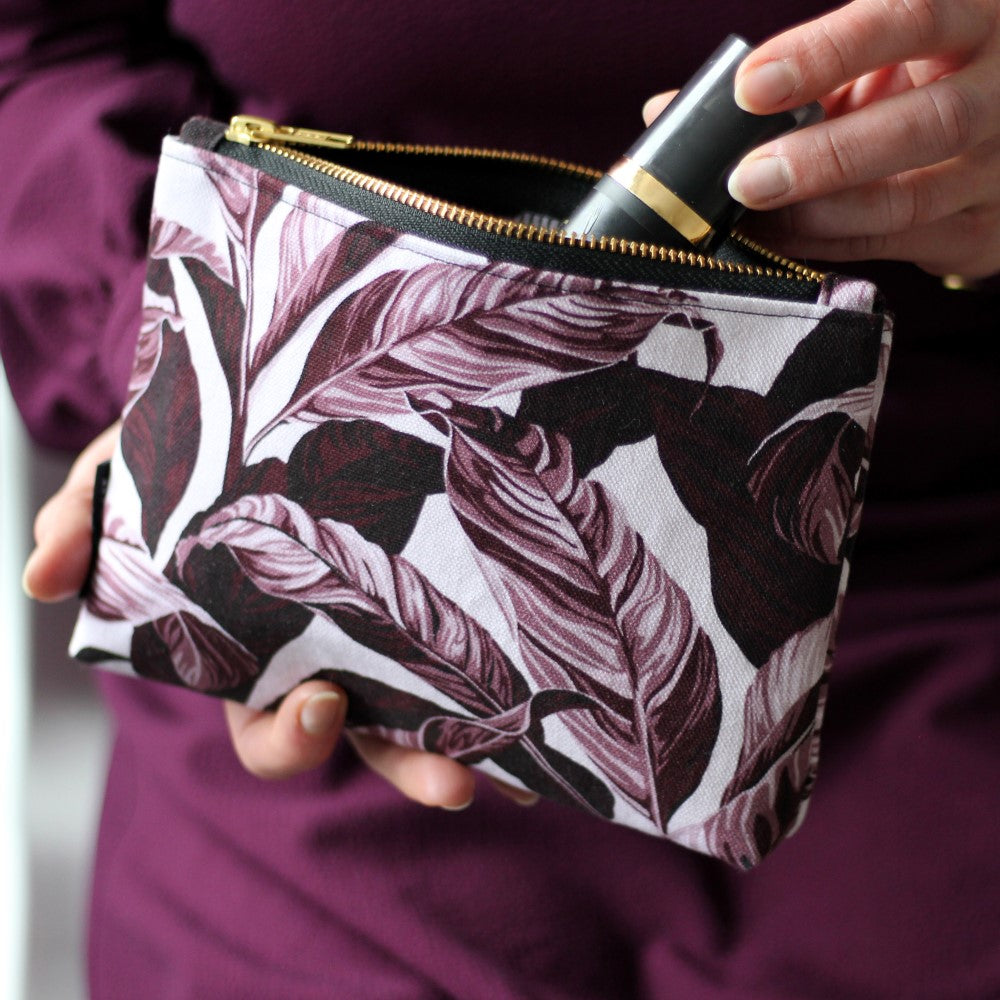 Selva: Make Up Bag - Plum Pink
