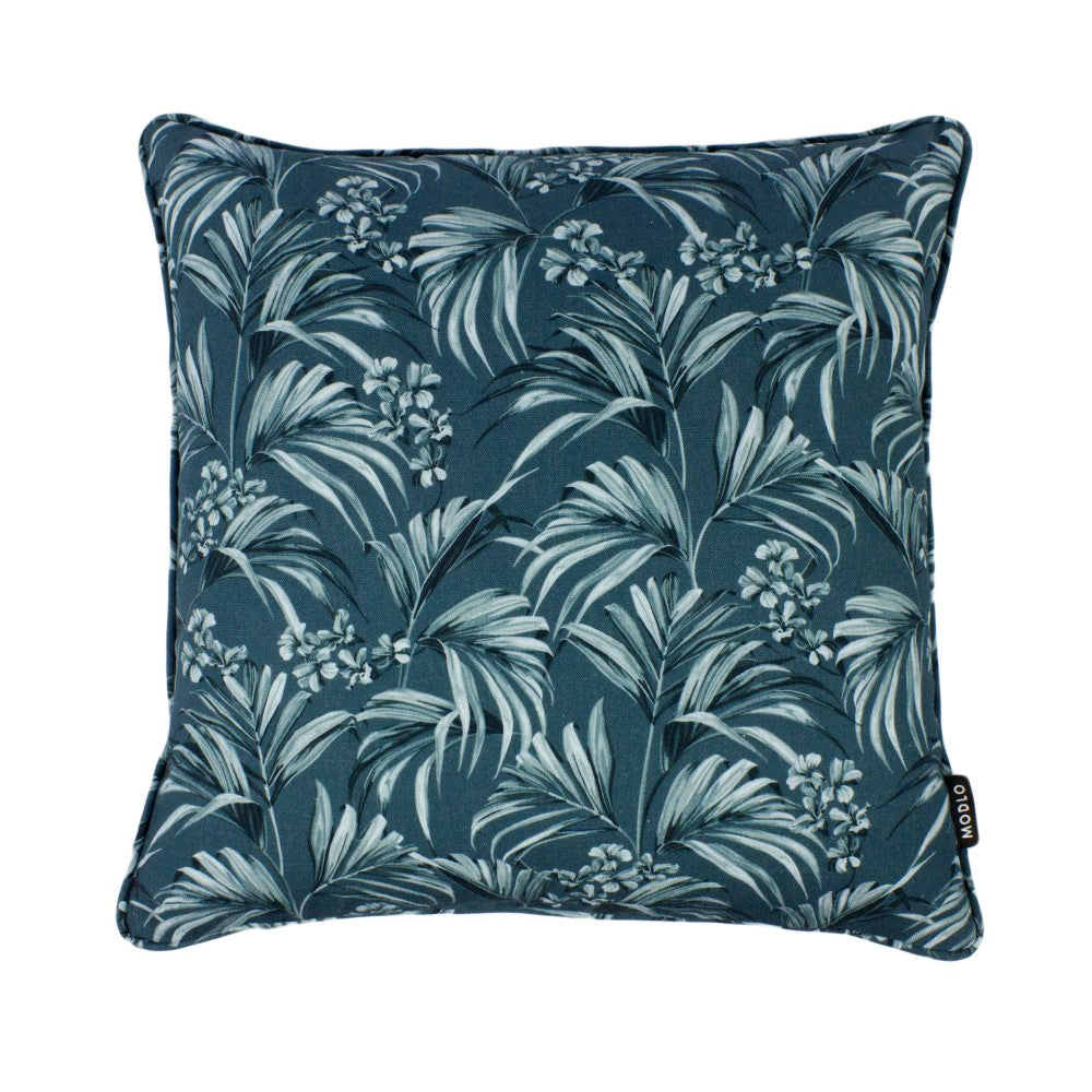 Kentia: Cotton Cushion - Slate Blue