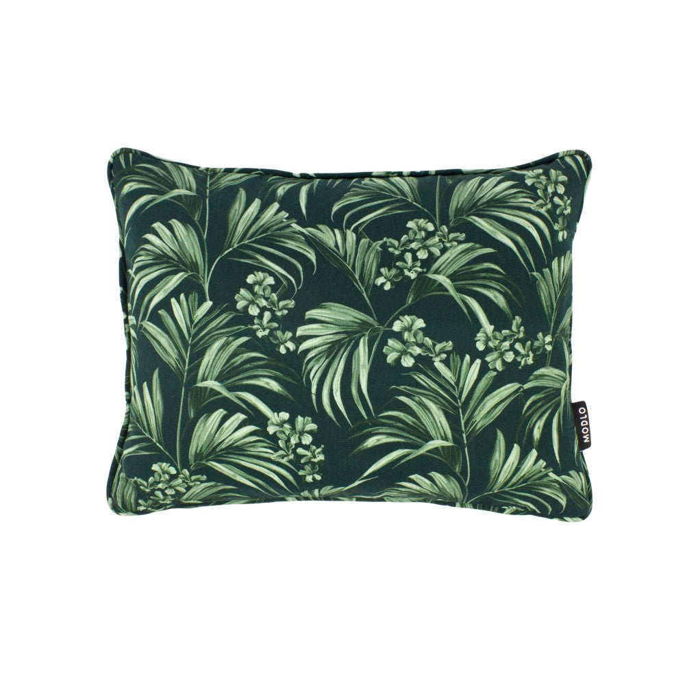 Kentia: Small Cushion - Dark Green