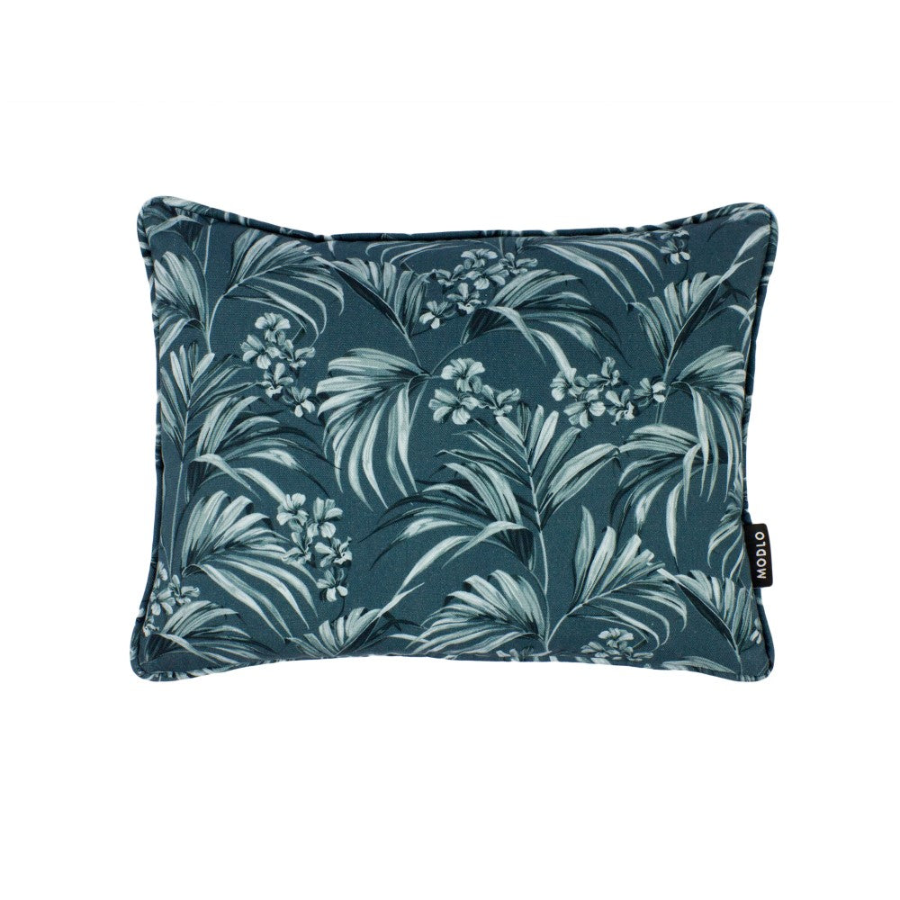 Kentia: Small Cushion - Slate Blue