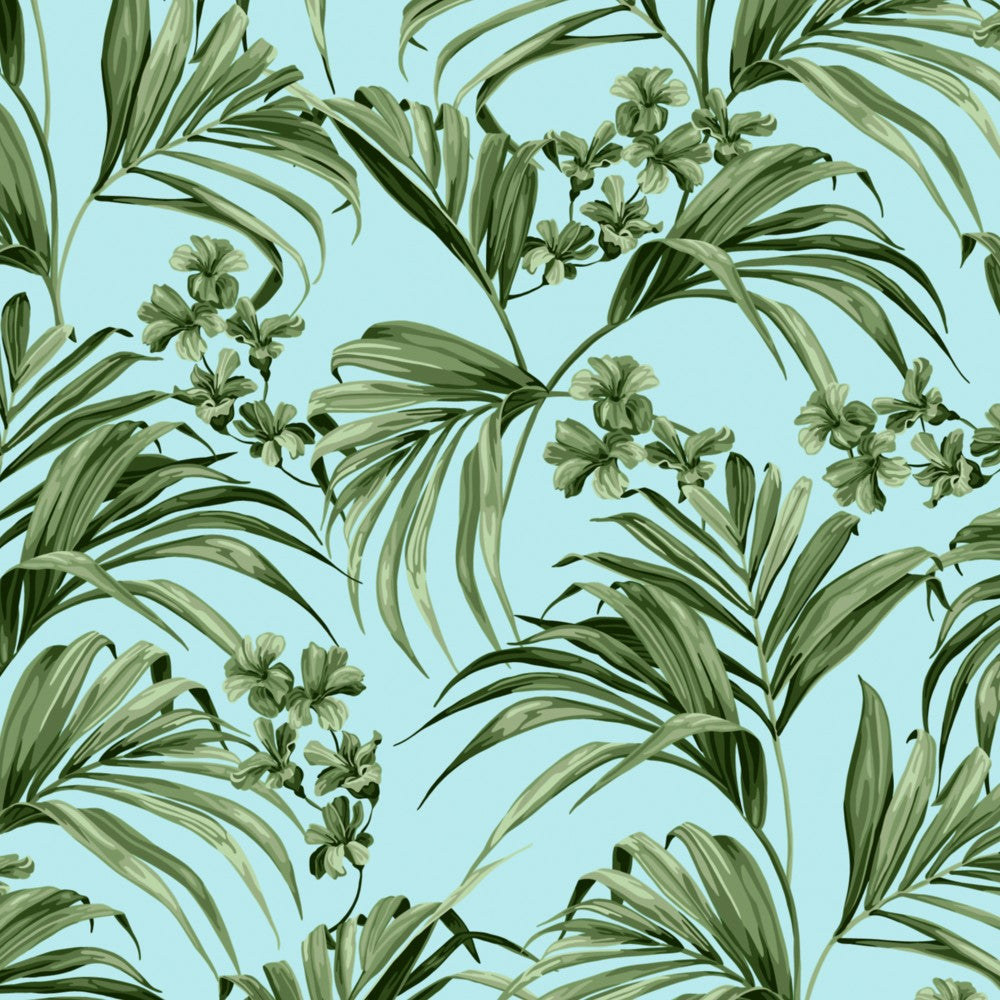 Kentia: Cotton - Blue & Green