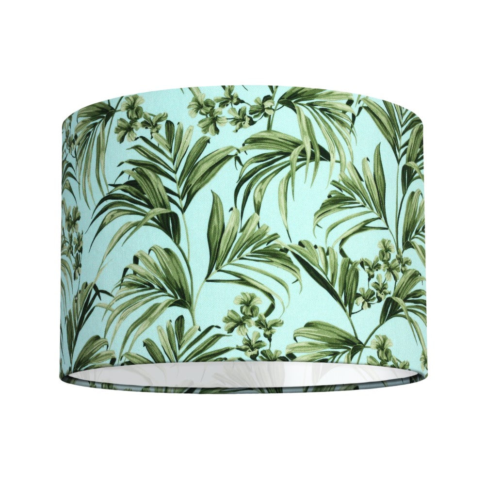 Kentia: Lamp Shade - Blue & Green