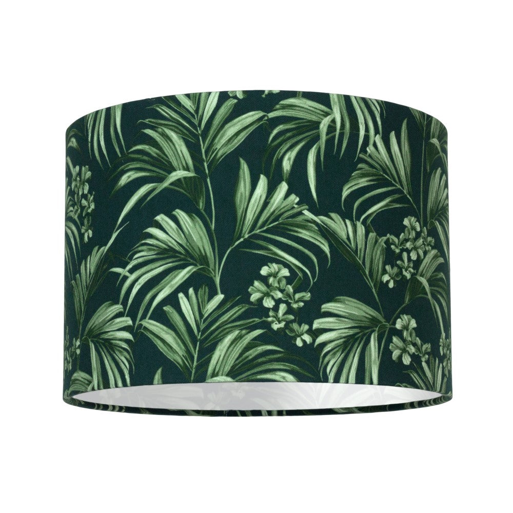 Kentia: Lamp Shade - Dark Green