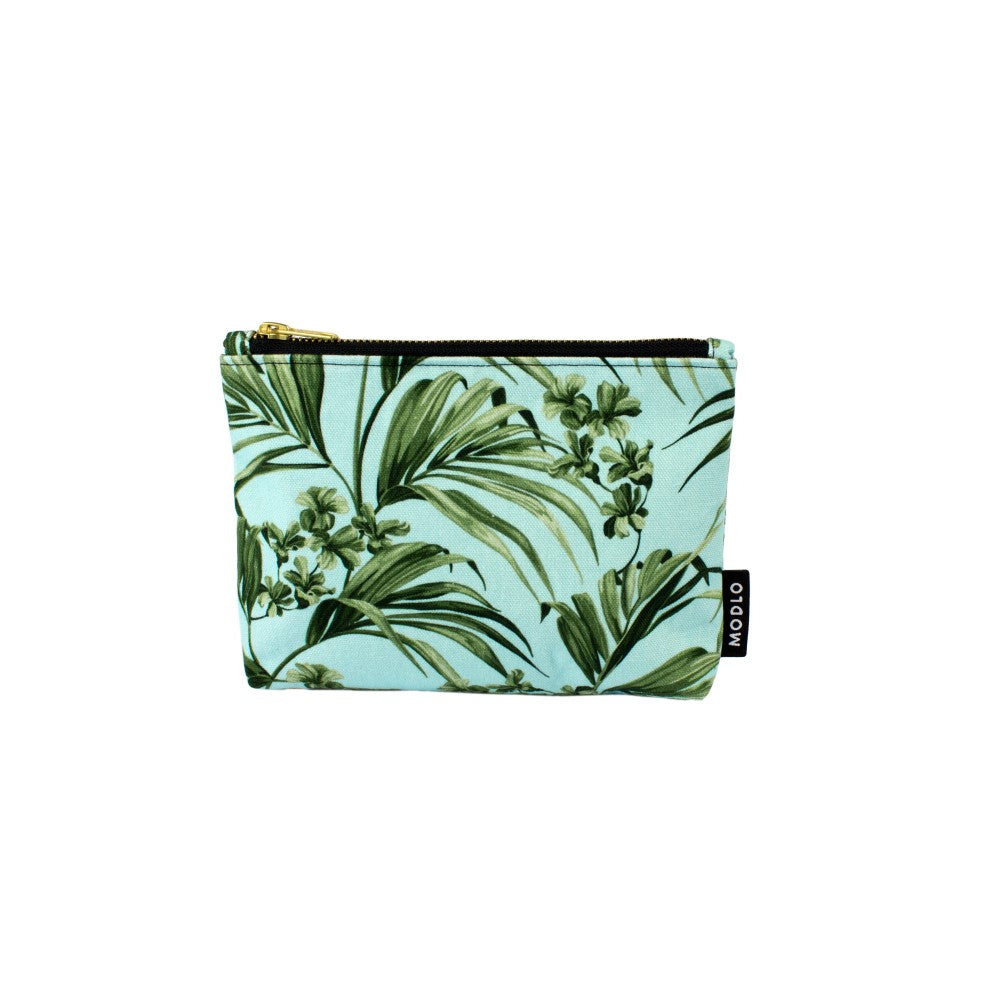 Kentia: Make Up Bag - Blue & Green