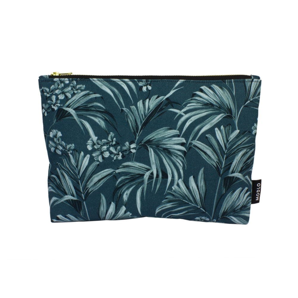 Kentia: Large Wash Bag - Slate Blue