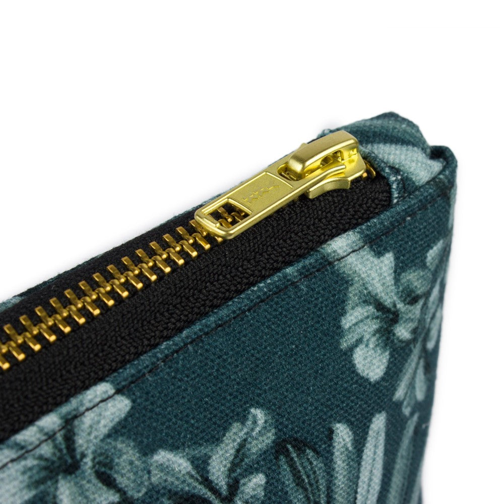 Kentia: Make Up Bag - Slate Blue
