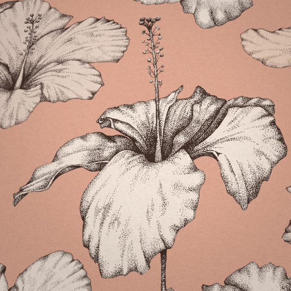 Blush Pink Wallpaper by Modlo