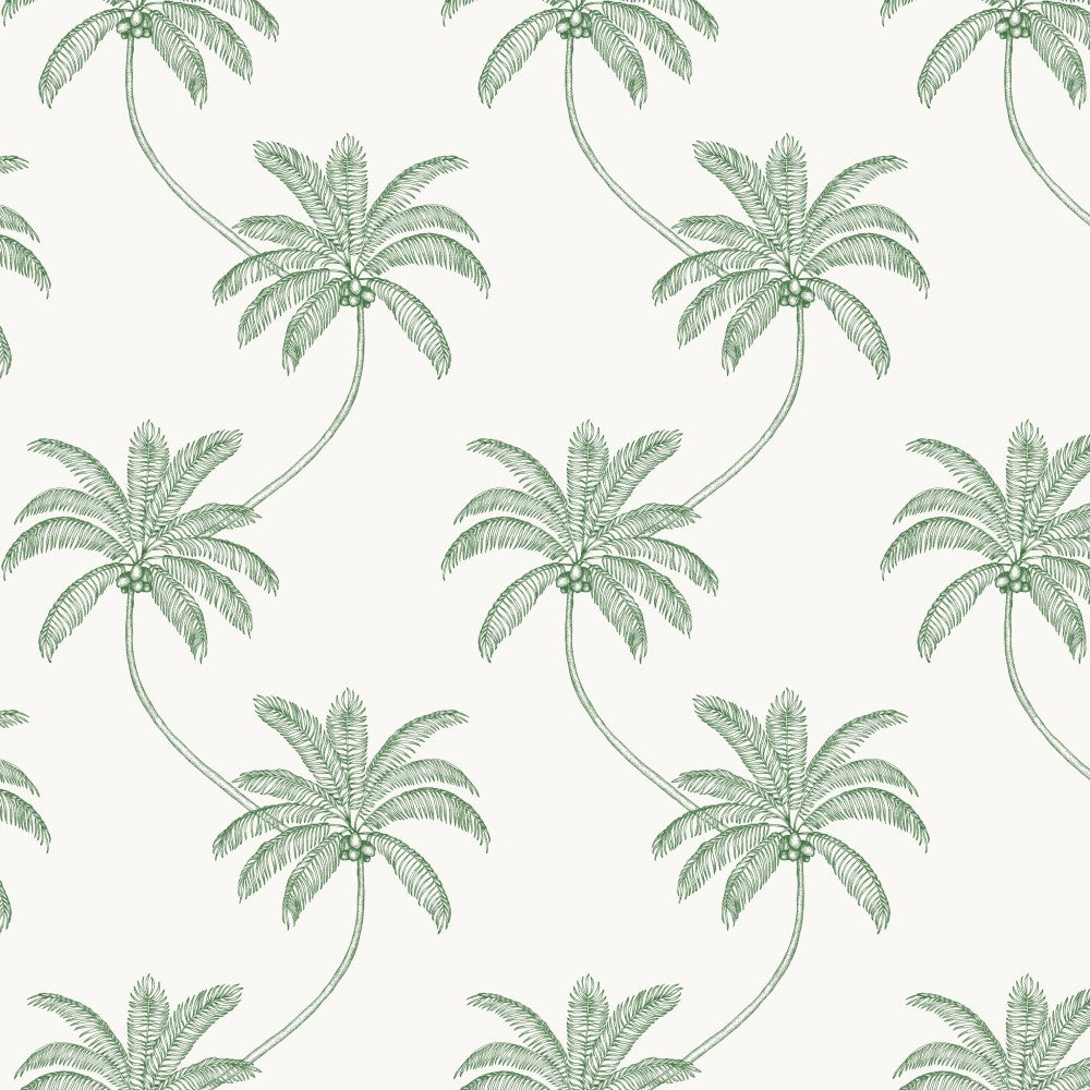 Cocos: Cotton - Palm Green