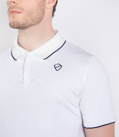 William Polo - White/Navy