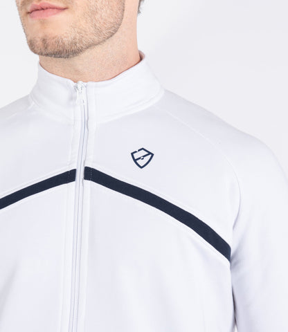 Louis Jacket - White/Navy