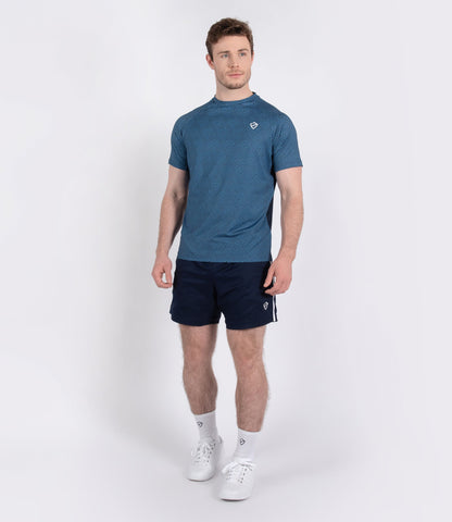 Philip Tee - Navy/Brilliant Blue