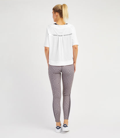 Bridget Loose Tee-White