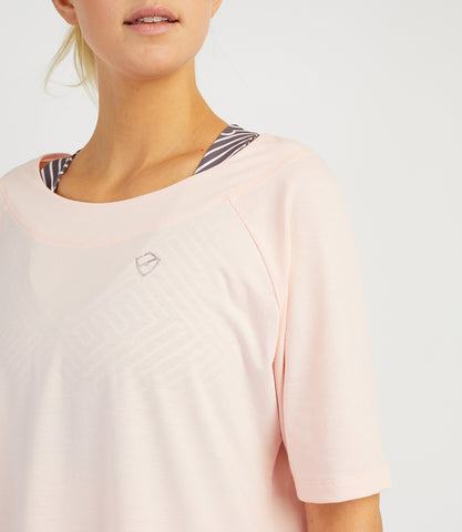 Bridget Loose Tee - Rose