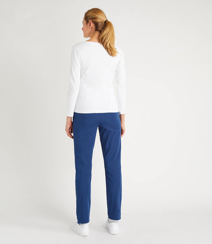 Chloe Tapered Pant - Blue